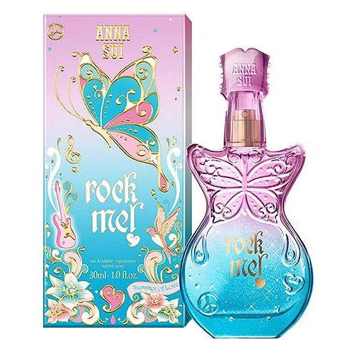 Anna Sui Rock Me! Summer of Love Eau de Toilette 1oz, 30ml