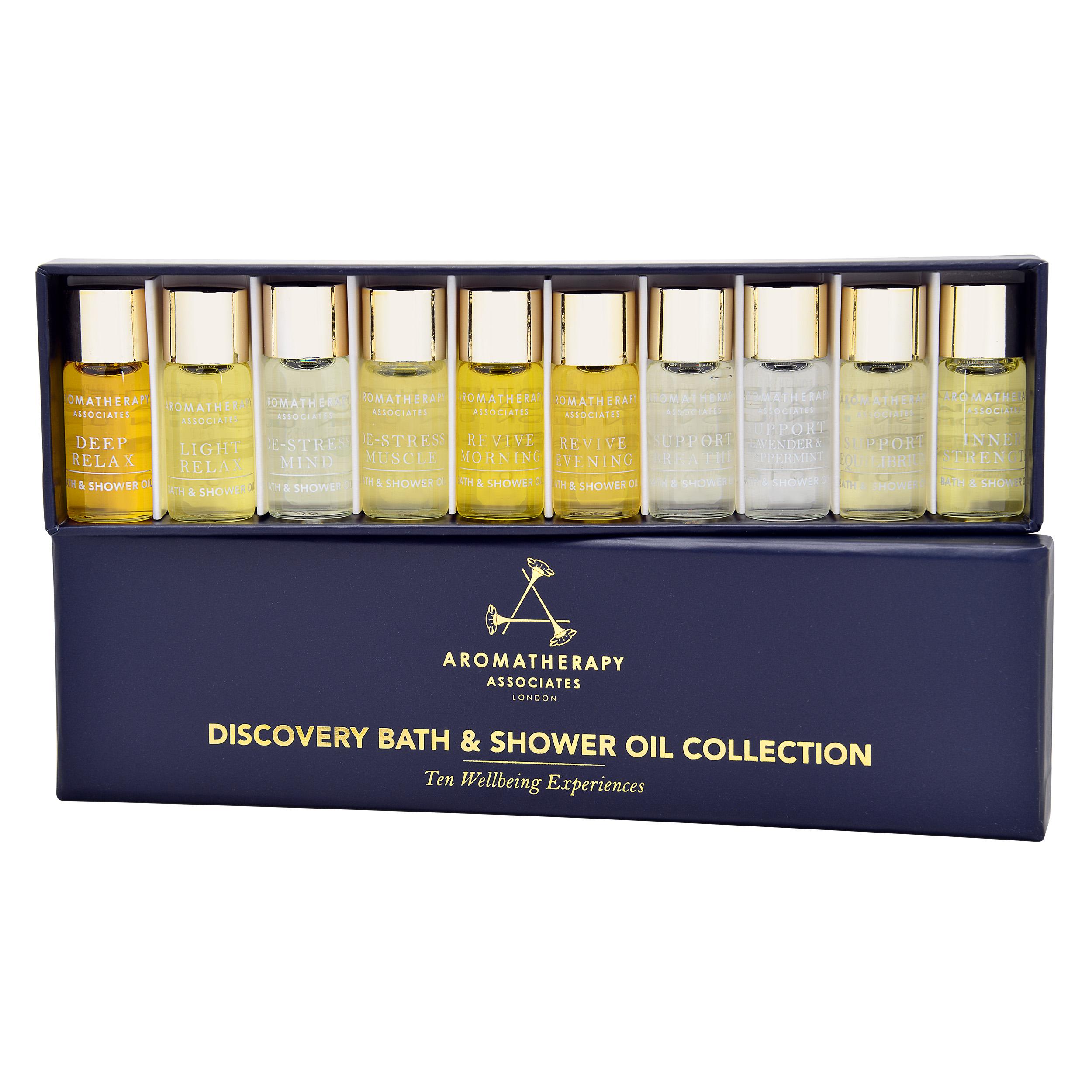 Aromatherapy Associates  Miniature Bath & Shower Oil Collection 10 x 0.1oz, 10 x 3ml