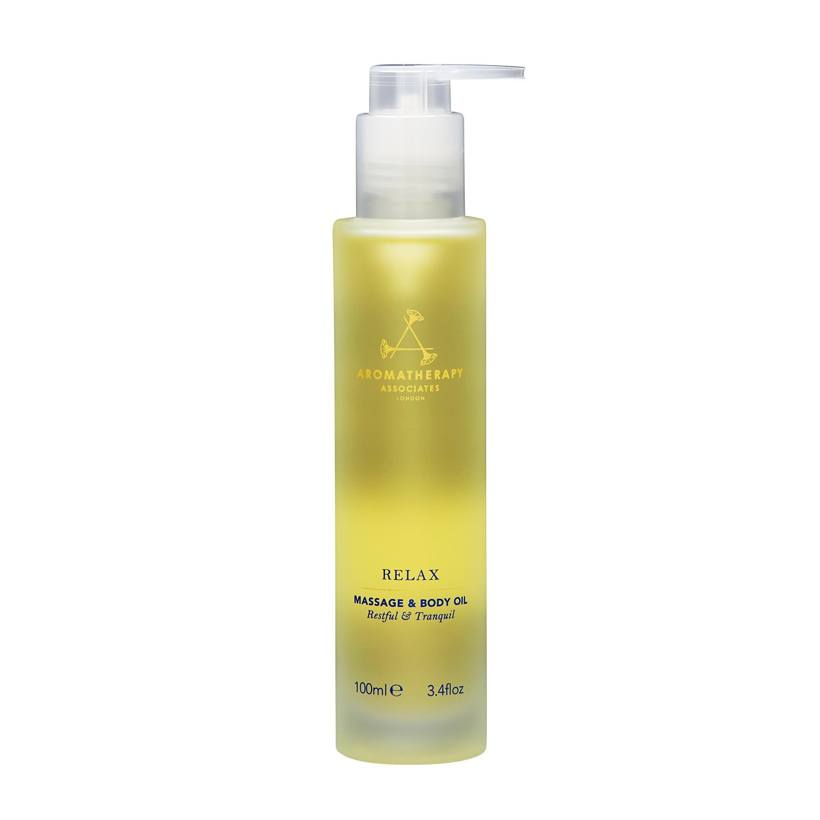 Aromatherapy Associates Relax Massage & Body Oil 3.4oz, 100ml