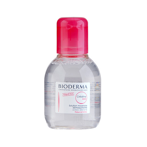 Bioderma Créaline H2O Ultra-Mild Non-Rinse Cleanser for Face & Eyes (Normal to Sensitive Skin) 100ml,