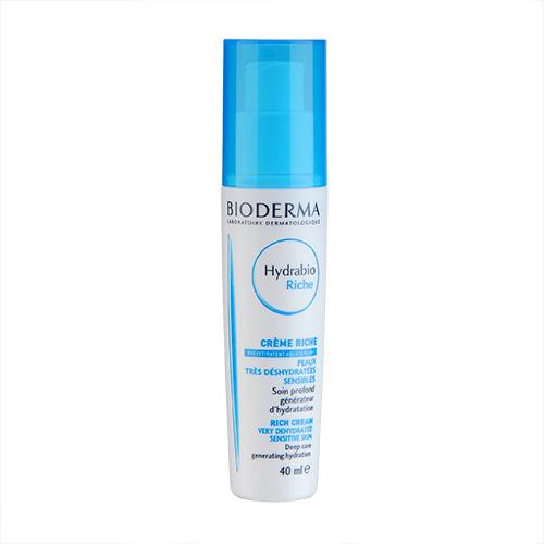 Bioderma Hydrabio Riche Moisturising Cream (For Very Dehydrated Sensitive Skin) 40ml,