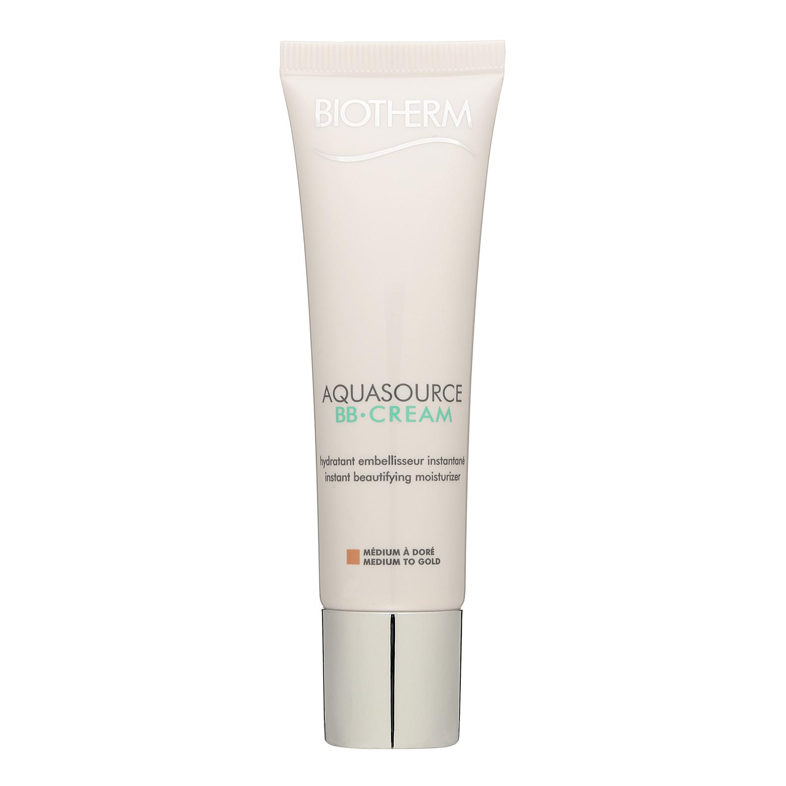 Biotherm Aquasource  BB Cream Instant Beautifying Moisturizer FPS / SPF15 Medium To Gold, 1.01oz, 30ml