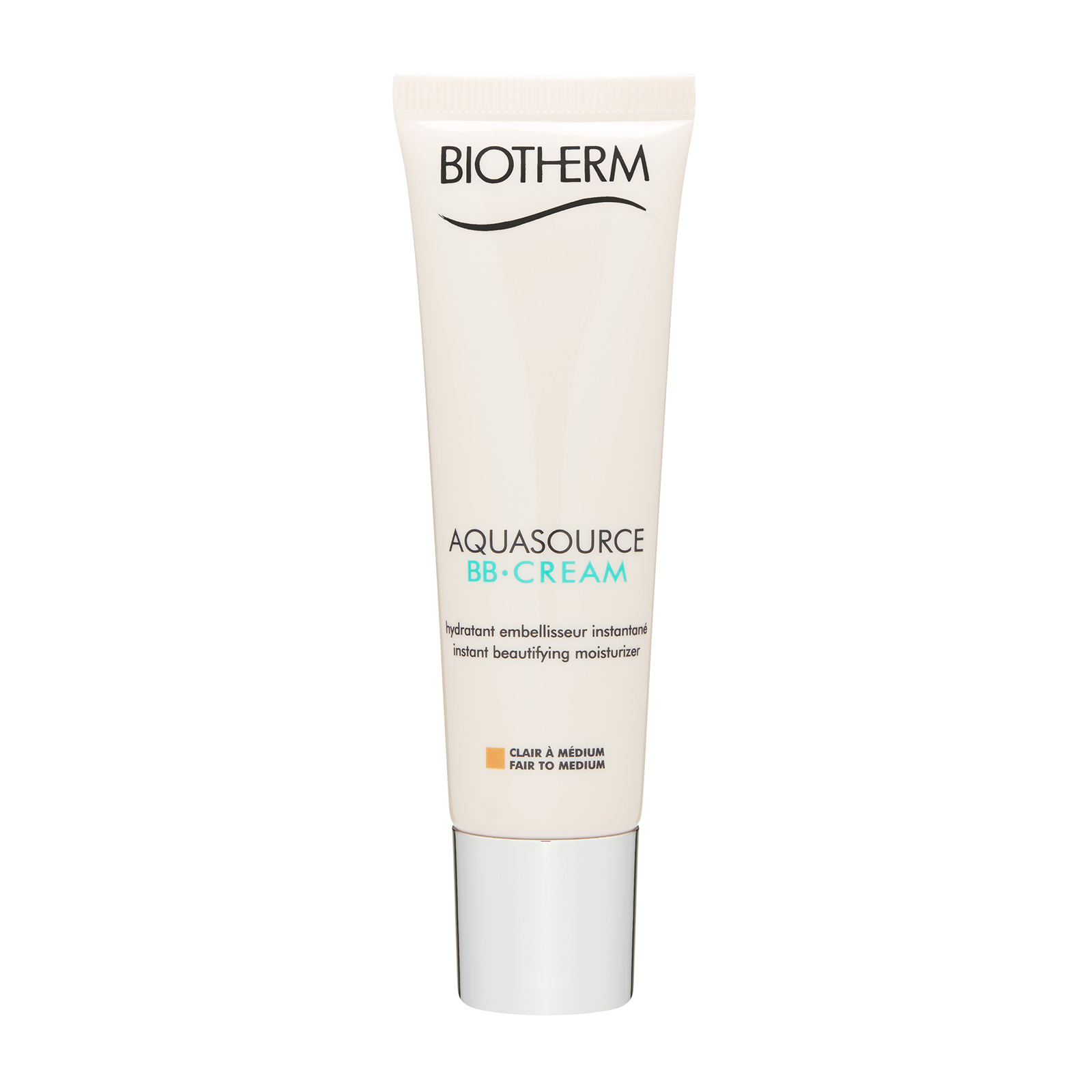 Biotherm Aquasource  BB Cream Instant Beautifying Moisturizer FPS / SPF15 Fair To Medium, 1.01oz, 30ml
