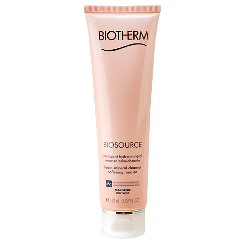Biotherm Biosource Hydra-Mineral Cleanser Softening Mousse Mg (Dry Skin) 5.07oz, 150ml