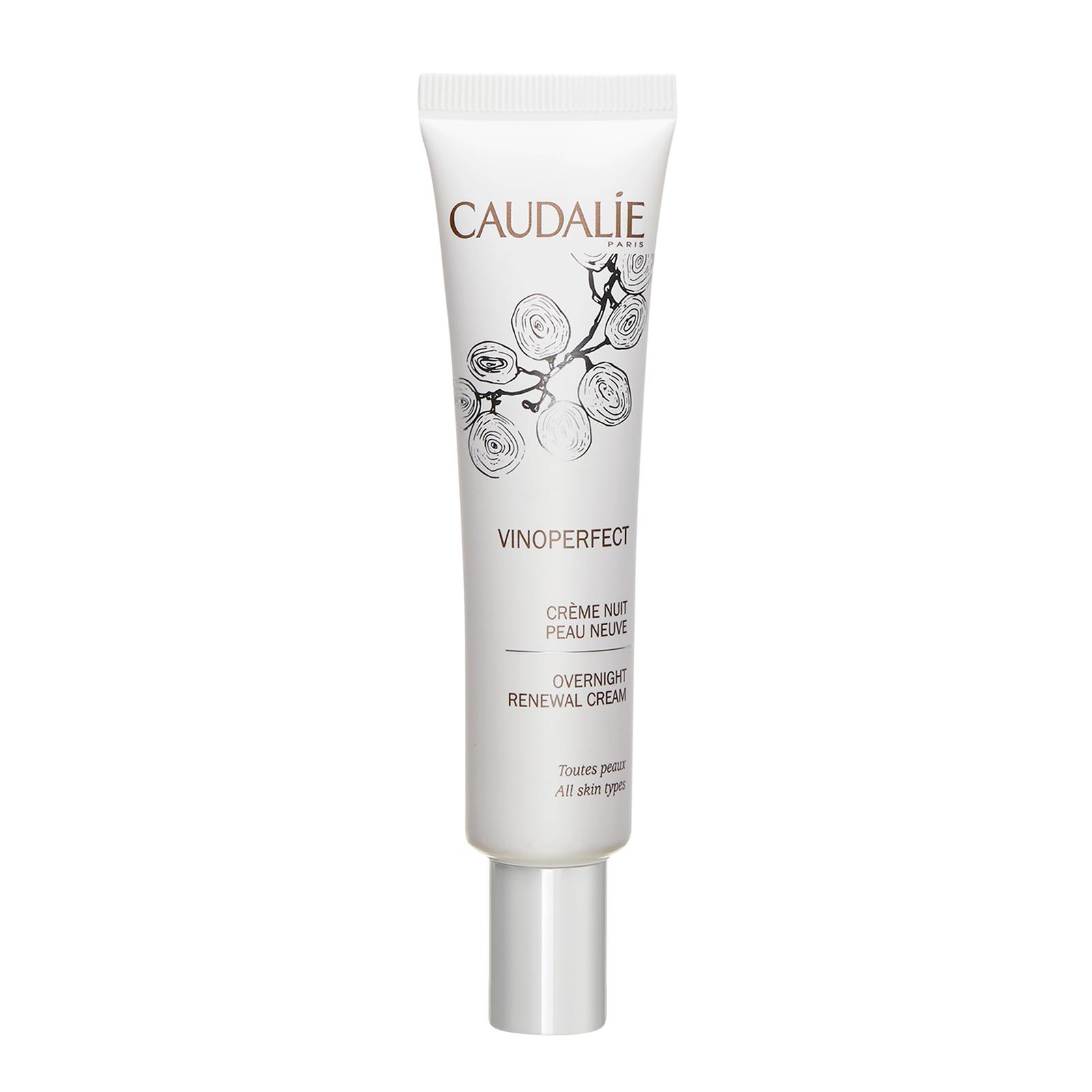 CAUDALIE Vinoperfect Overnight Renewal Cream (All Skin Types)  1.3oz, 40ml
