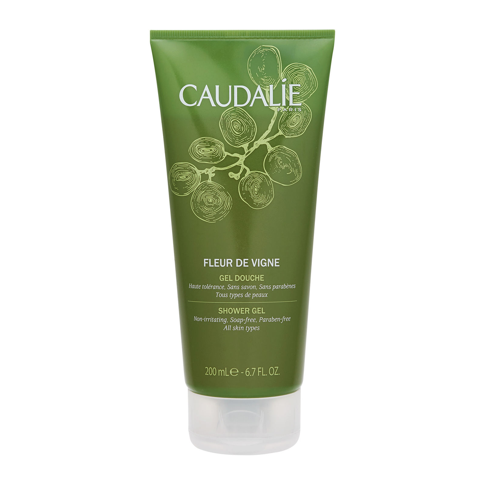 CAUDALIE  Fleur de Vigne Shower Gel 6.7oz, 200ml