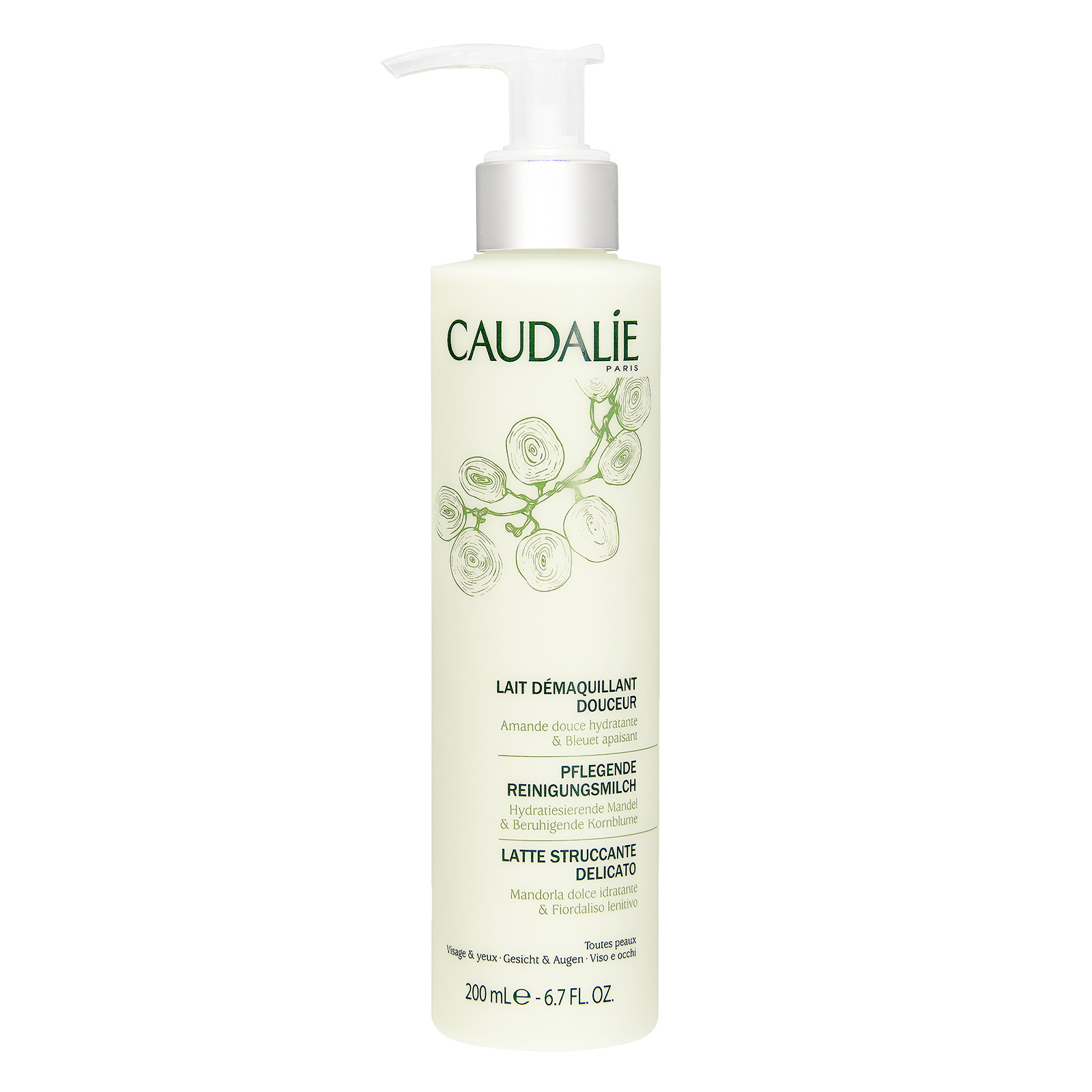 CAUDALIE  Gentle Cleansing Milk 6.7oz, 200ml