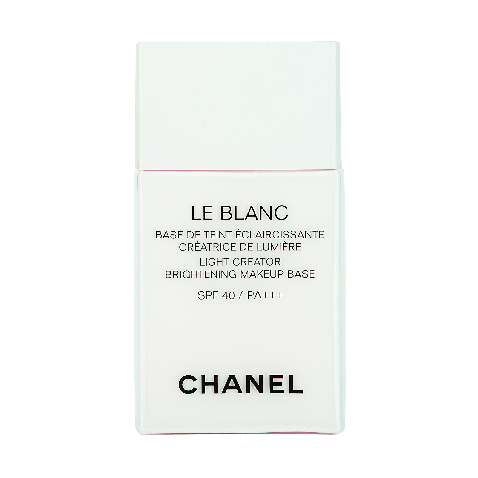 Chanel Le Blanc Light Creator Brightening Makeup Base SPF 40/ PA+++ 30 Lys, 1oz, 30ml