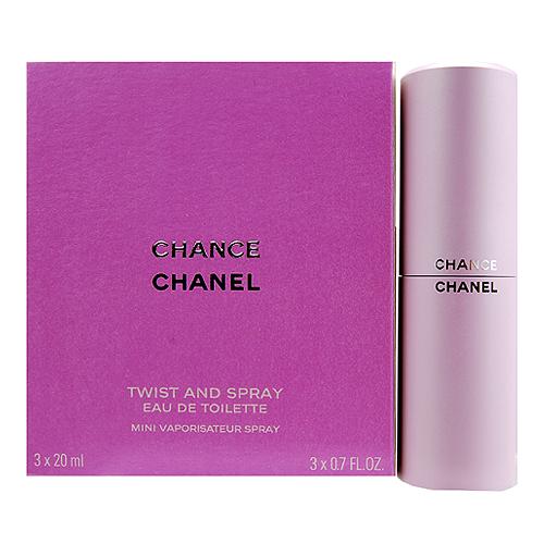 Chanel Chance EDT 3 x 0.7oz, 3 x 20ml women