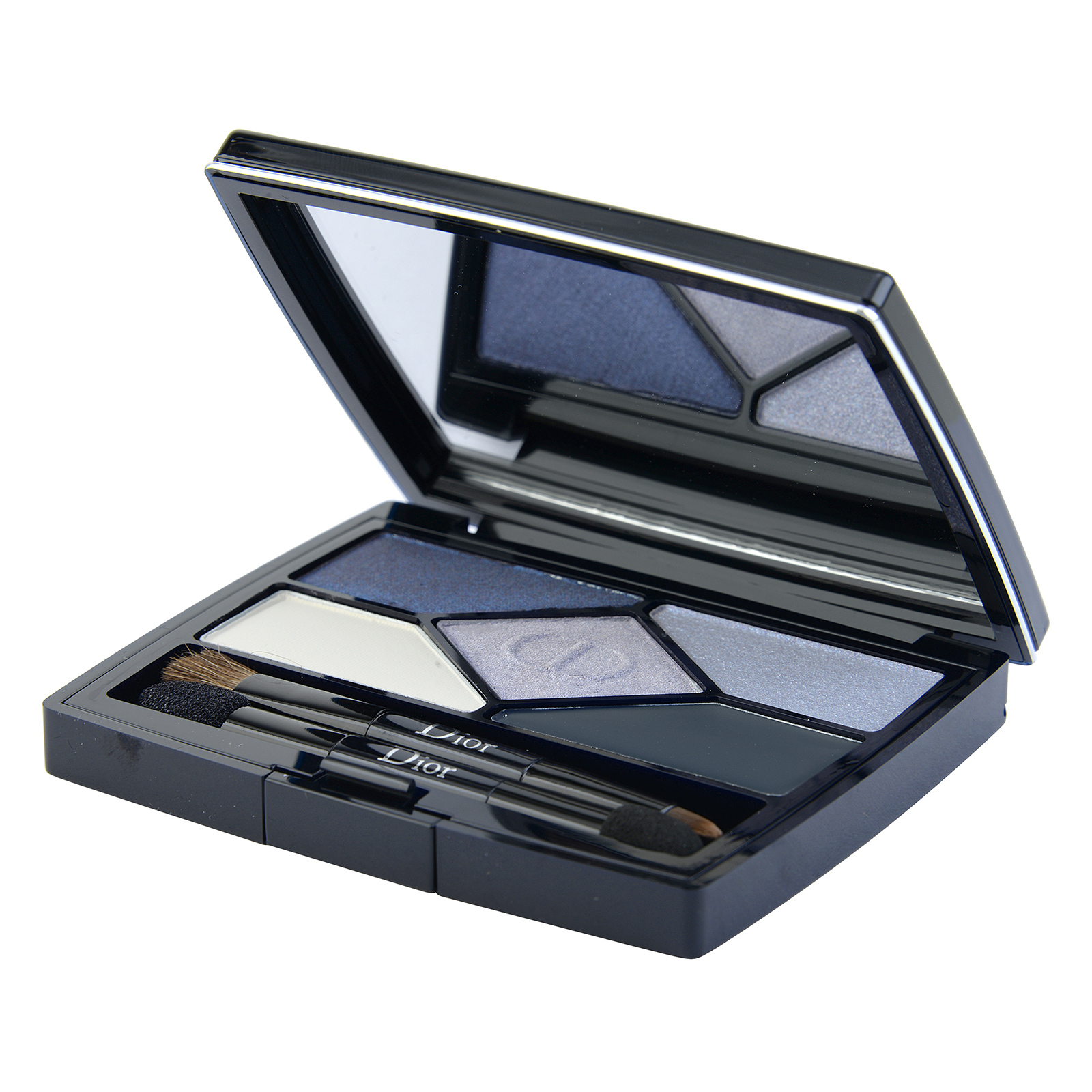 Christian Dior 5 Couleurs Designer  All-In-One Professional Eye Palette 208 Navy Design, 0.2oz, 5.7g