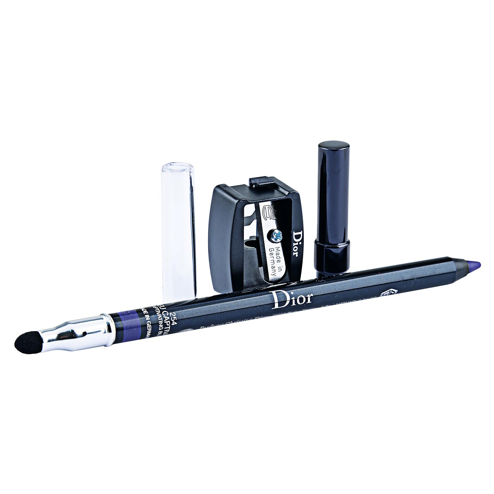 Christian Dior Long-Wear Waterproof Eyeliner Pencil 254 Captivating Blue, 0.04oz, 1.2g