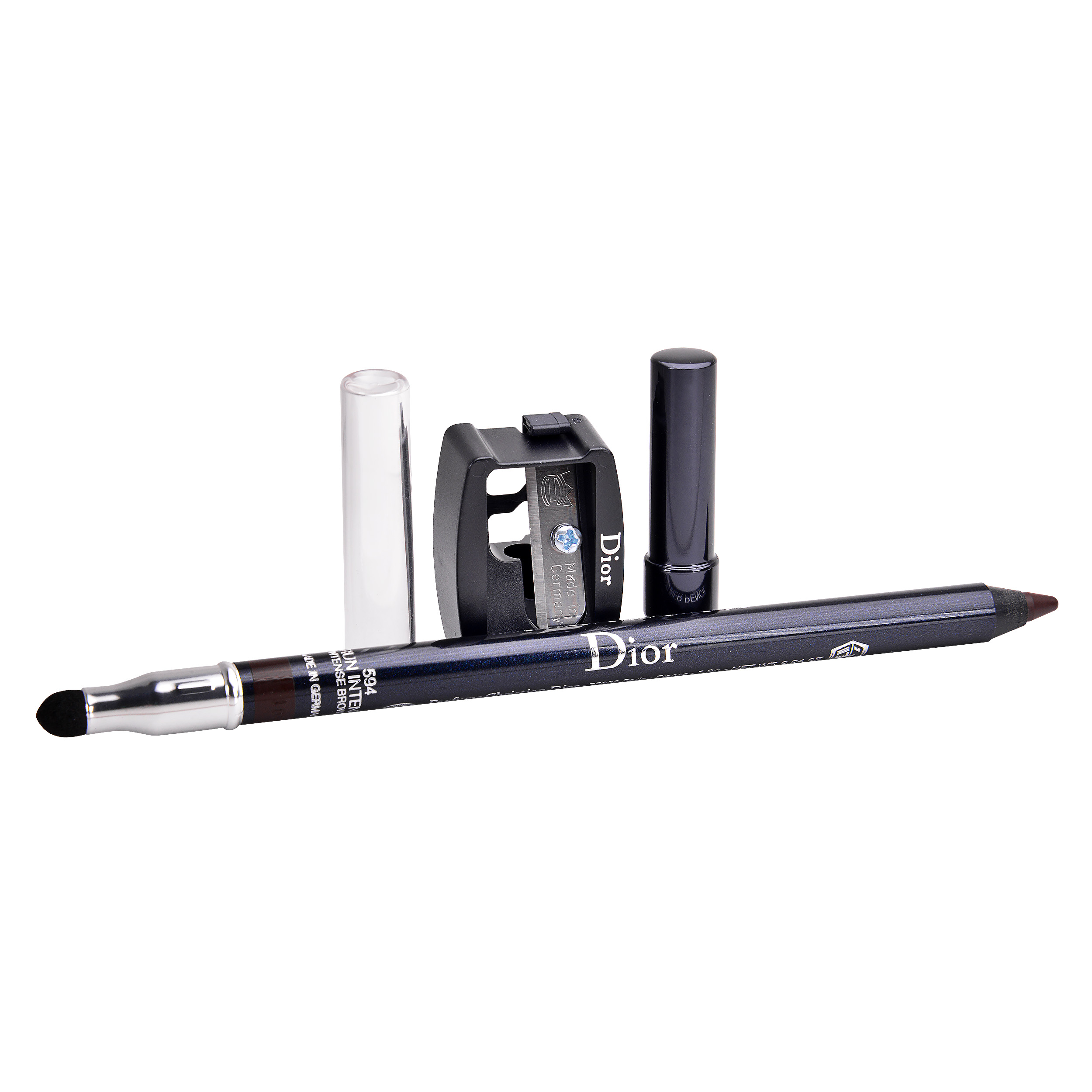 Christian Dior Long-Wear Waterproof Eyeliner Pencil 594 Intense Brown, 0.04oz, 1.2g