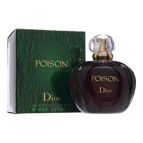 Christian Dior Poison Eau de Toilette 1oz, 30ml
