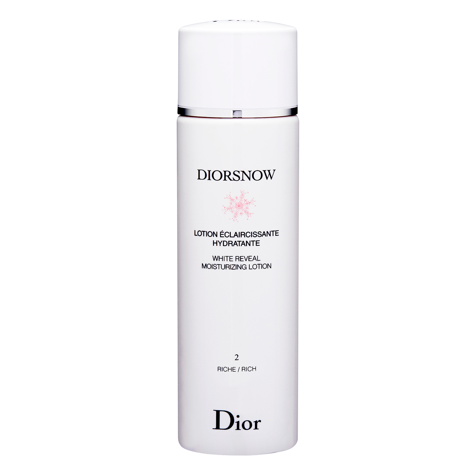 Christian Dior DiorSnow White Reveal Moisturizing Lotion (With Icelandic Glacial™ Water) 2 Rich 滋潤, 6.7oz, 200ml
