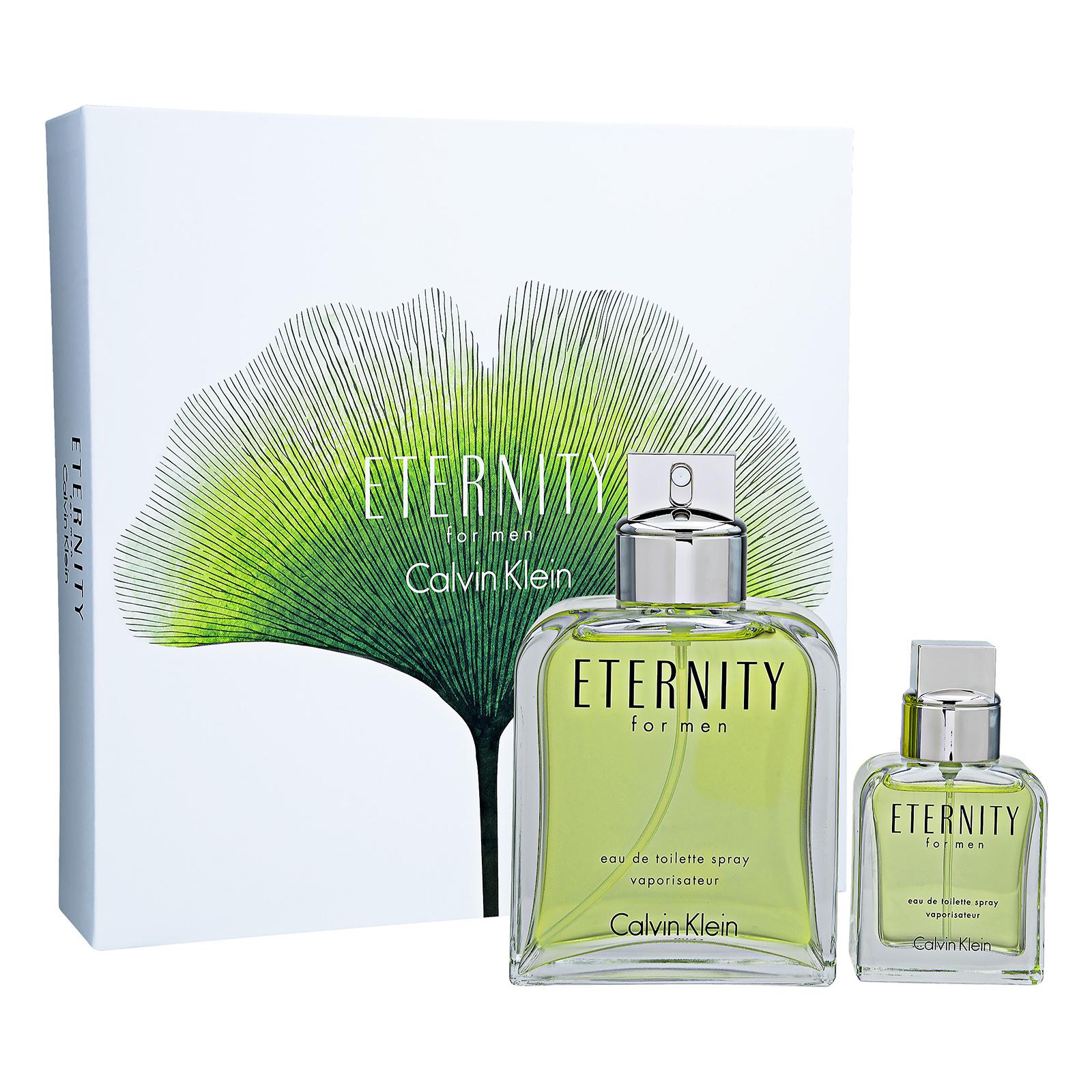 Calvin Klein Eternity For Men EDT 2-Piece Set 1set, 2pcs 200ml 6.7oz Spray