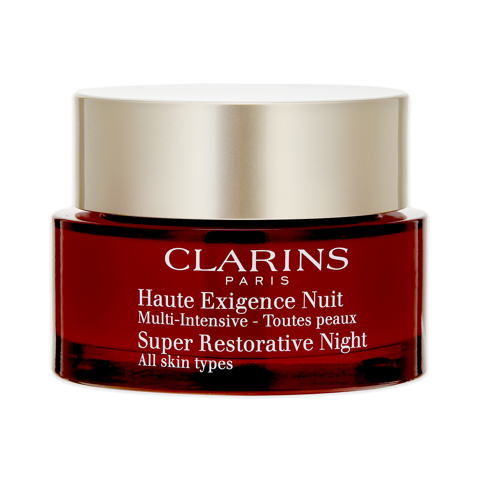 Clarins Super Restorative  Night Age Spot Correcting Replenishing Cream (For All Skins) 1.6oz, 50ml from Cosme-De.com
