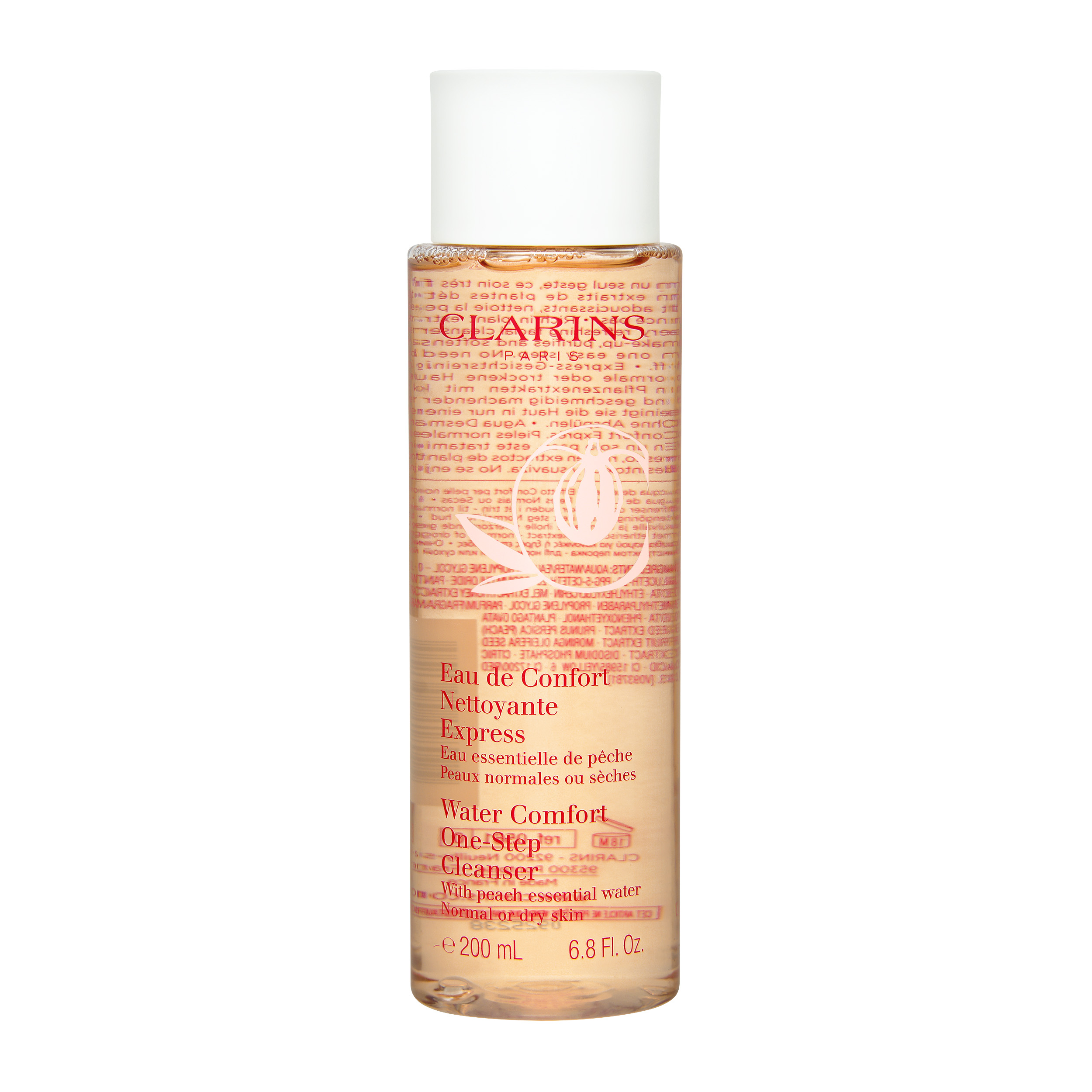 Clarins  Water Comfort One-Step Cleanser (Normal or Dry Skin) 6.8oz, 200ml from Cosme-De.com