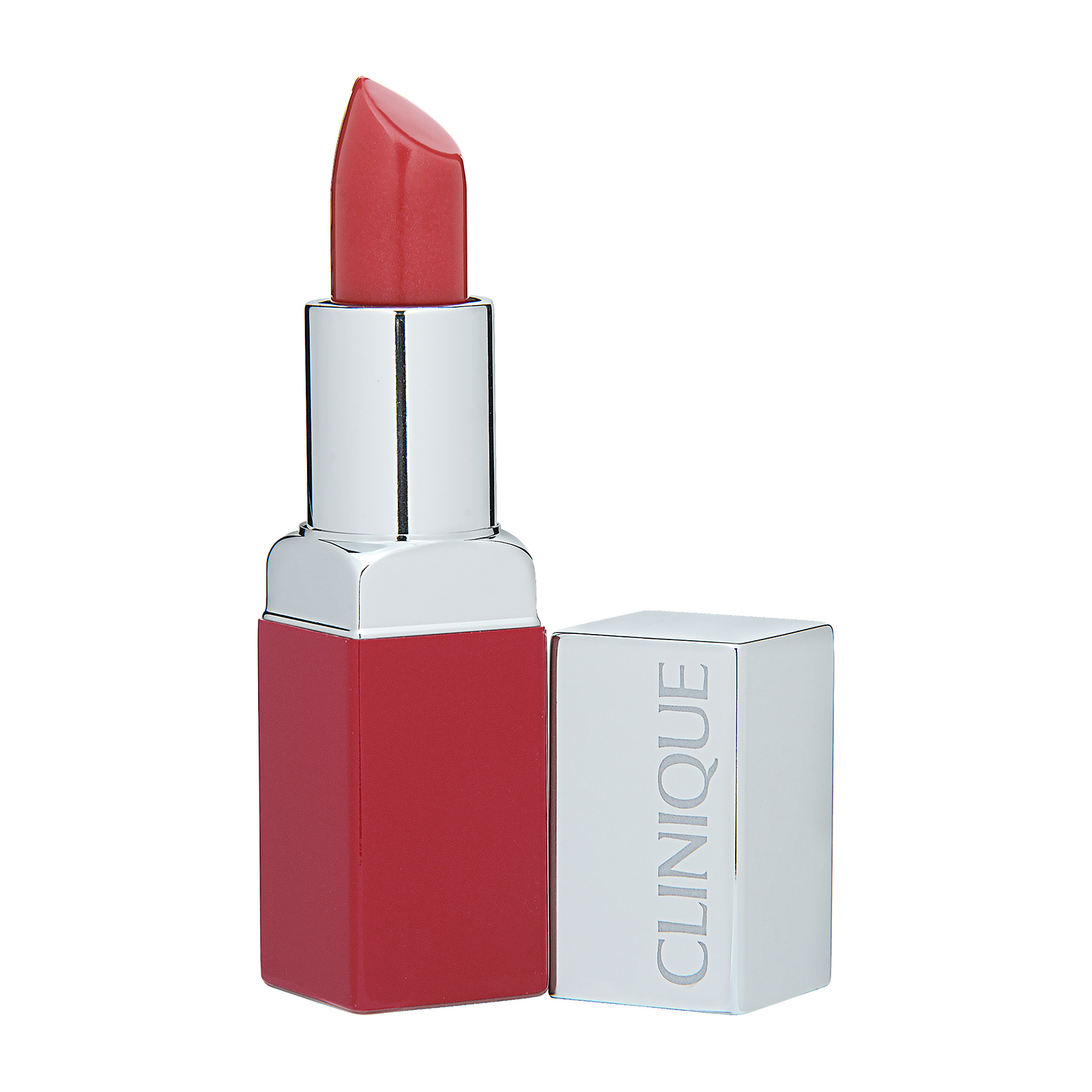 Clinique  Pop Lip Colour + Primer 06 Poppy Pop, 0.13oz, 3.9g