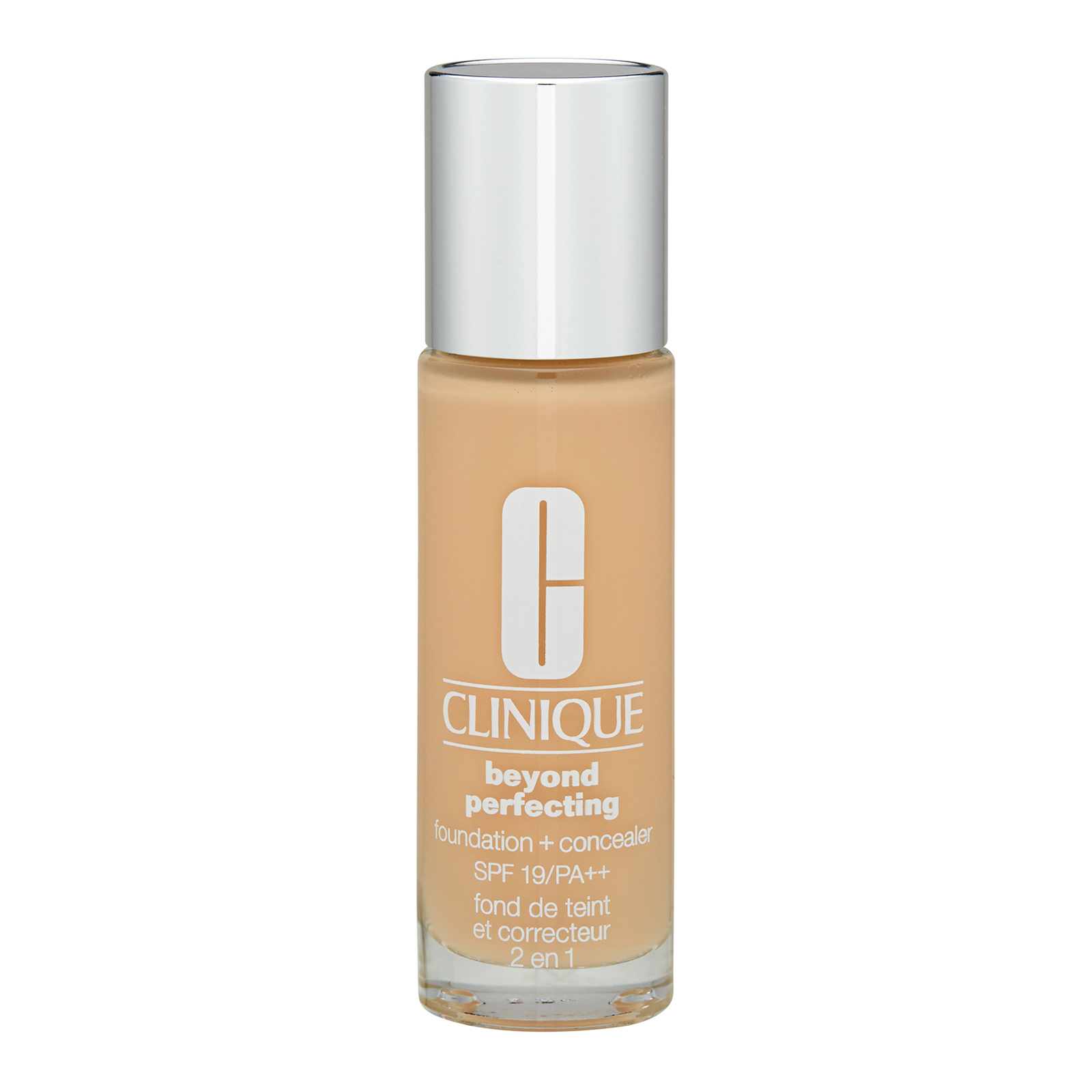 Clinique  Beyond Perfecting Foundation + Concealer SPF19 / PA++ 61 Ivory (F-N), 1oz, 30ml