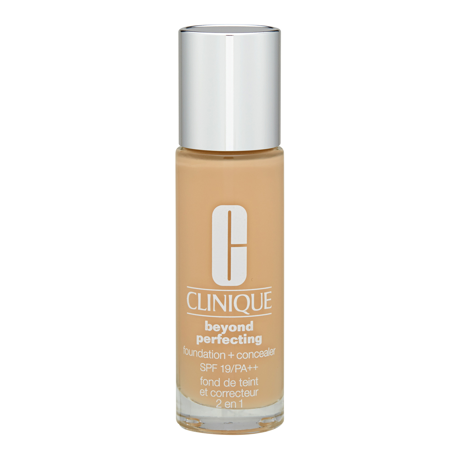Clinique  Beyond Perfecting Foundation + Concealer SPF19 / PA++ 63 Fresh Beige, 1oz, 30ml