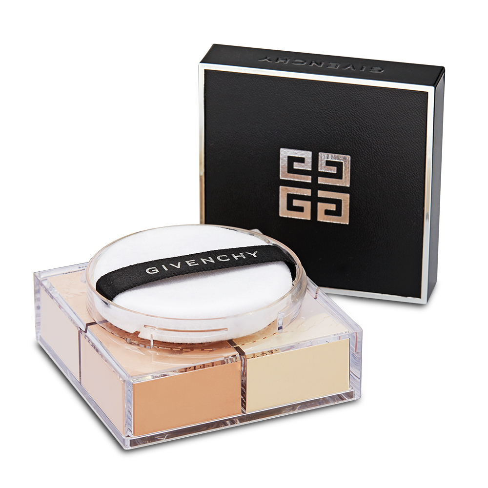 Givenchy Prisme Libre Mat-finish & Enhanced Radiance Loose Powder 4 in 1 Harmony 2 Taffetas Beige, 16g,