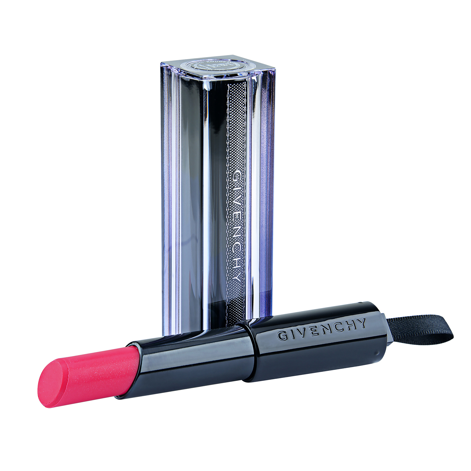 Givenchy  Rouge Interdit Vinyl Extreme Shine Lipstick Illicit Color 06 Rose Sulfureux, 0.11oz, 3.3g