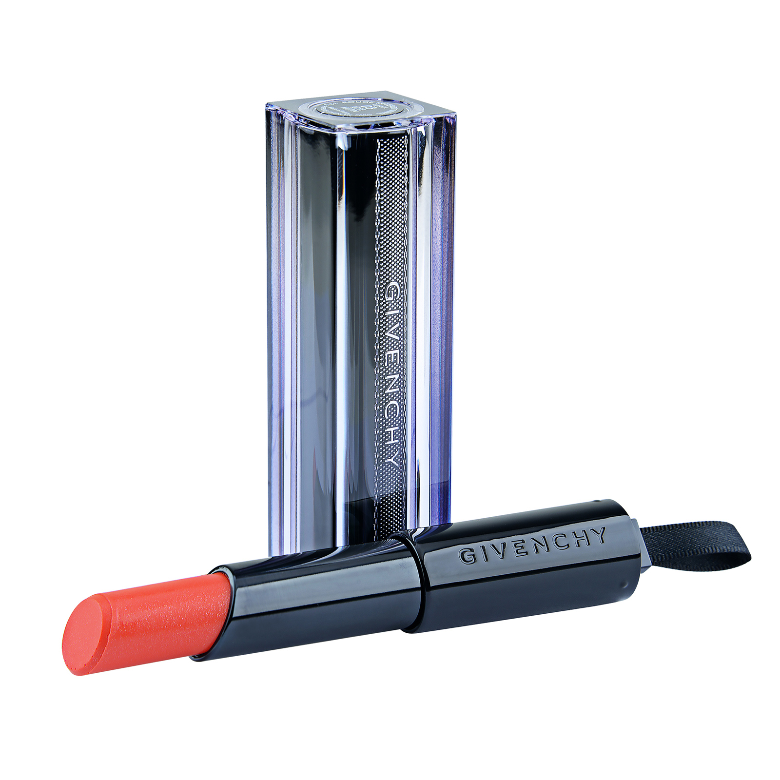 Givenchy  Rouge Interdit Vinyl Extreme Shine Lipstick Illicit Color 09 Corail Redoutable, 0.11oz, 3.3g