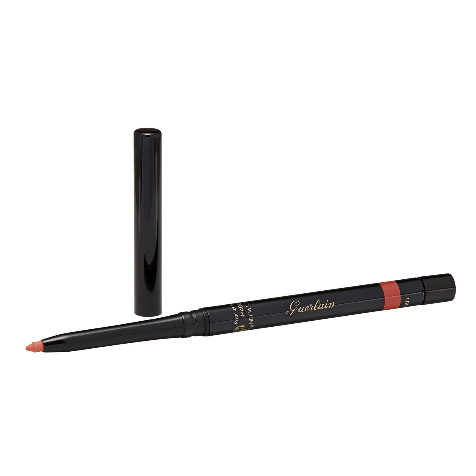 Guerlain Le Stylo Lèvres Lasting Colour High-Precision Lip Liner 46 Orange Hibiscus, 0.01oz, 0.35g