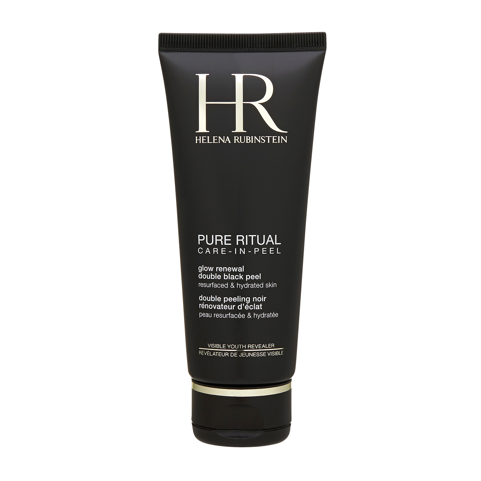 Helena Rubinstein Pure Ritual Care-In-Peel Glow Renewal Double Black Peel (For All Skin Types) 3.38oz, 100ml from Cosme-De.com
