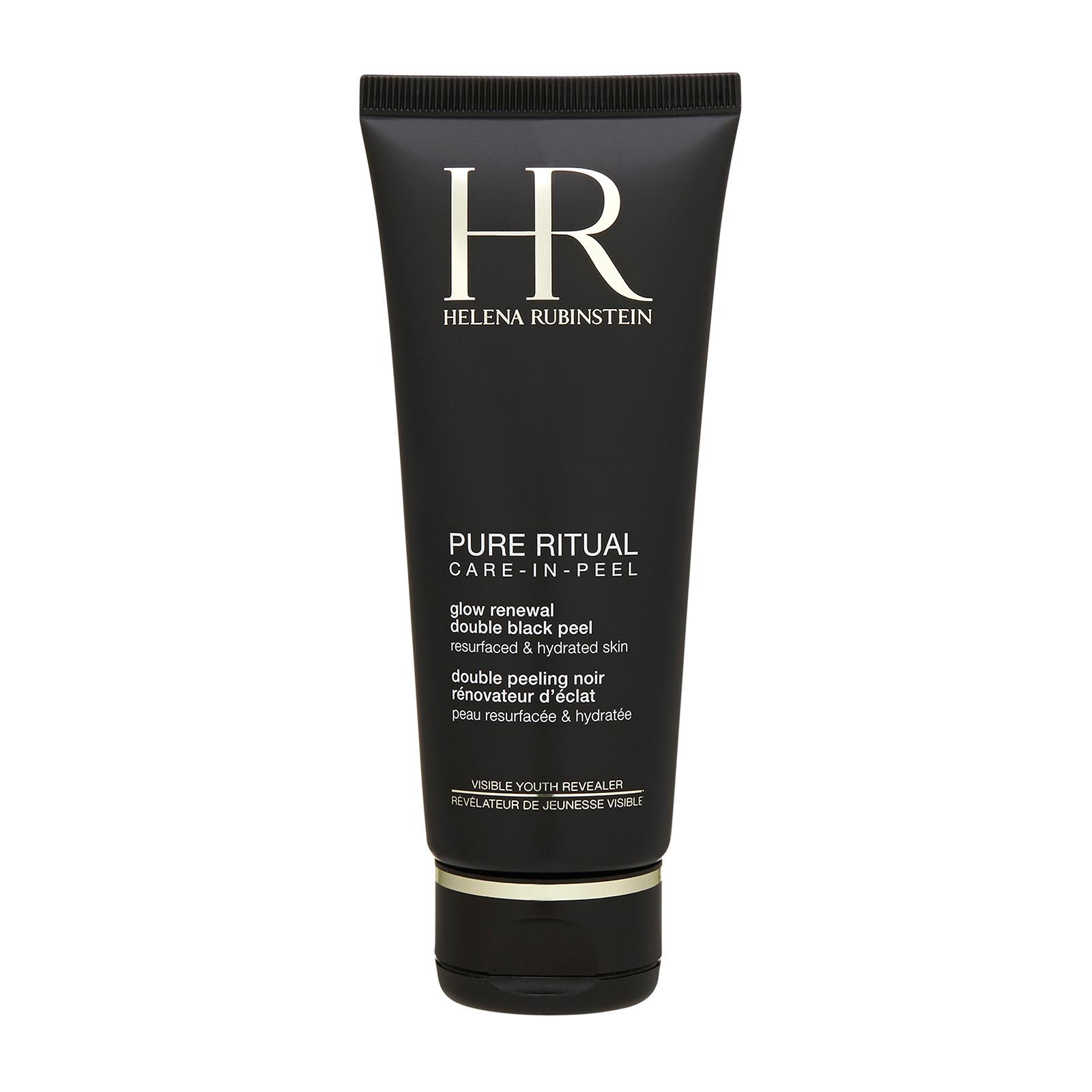 Helena Rubinstein Pure Ritual Care-In-Peel Glow Renewal Double Black Peel (For All Skin Types) 3.38oz, 100ml from Cosme-De.com