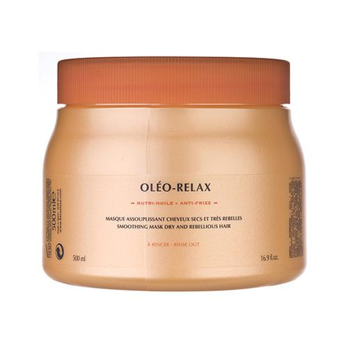 Kérastase Paris Nutritive OLÉO-RELAX - Smoothing Mask (for Dry and Rebellious Hair) 16.9oz, 500ml