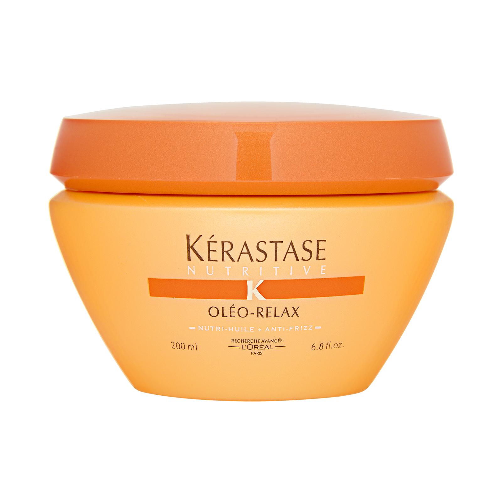 Kérastase Paris Nutritive Oléo-Relax Smoothing Masque (For Dry, Rebellious Hair) 6.8oz, 200ml