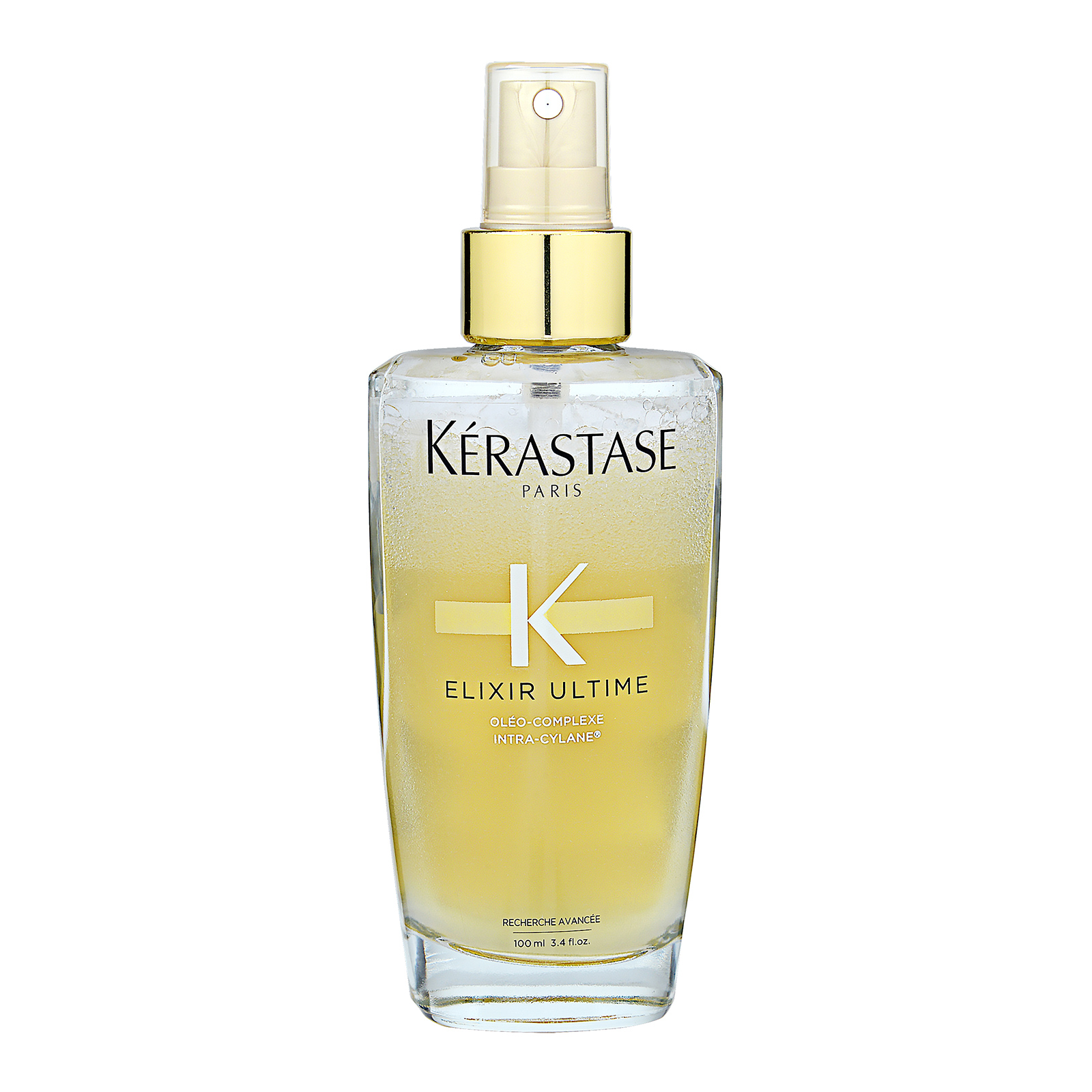 Kérastase Paris Elixir Ultime  Oleo-Complexe Intra-Cylane Volume Beautifying Oil Mist (Fine to Normal Hair) 3.4oz, 100ml