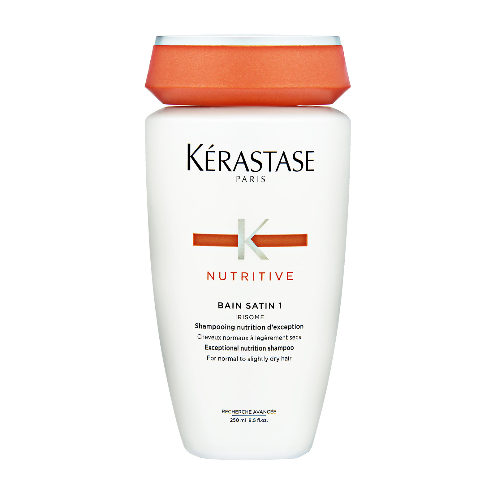 Kérastase Paris Nutritive  Bain Satin 1 Irisome Exceptional Nutrition Shampoo (For Normal To Slightly Dry Hair) 8.5oz, 250ml