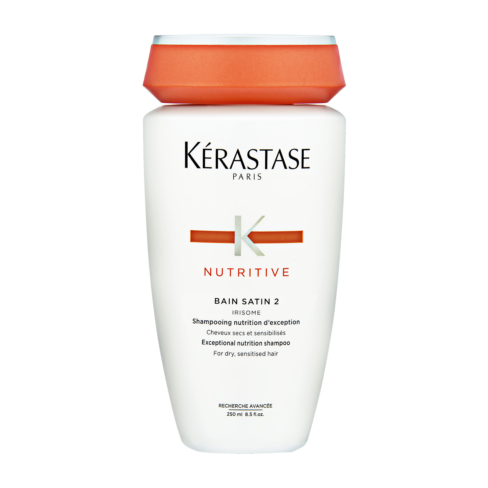 Kérastase Paris Nutritive  Bain Satin 2 Irisome Exceptional Nutrition Shampoo (For Dry to Sensitised Hair) 8.5oz, 250ml