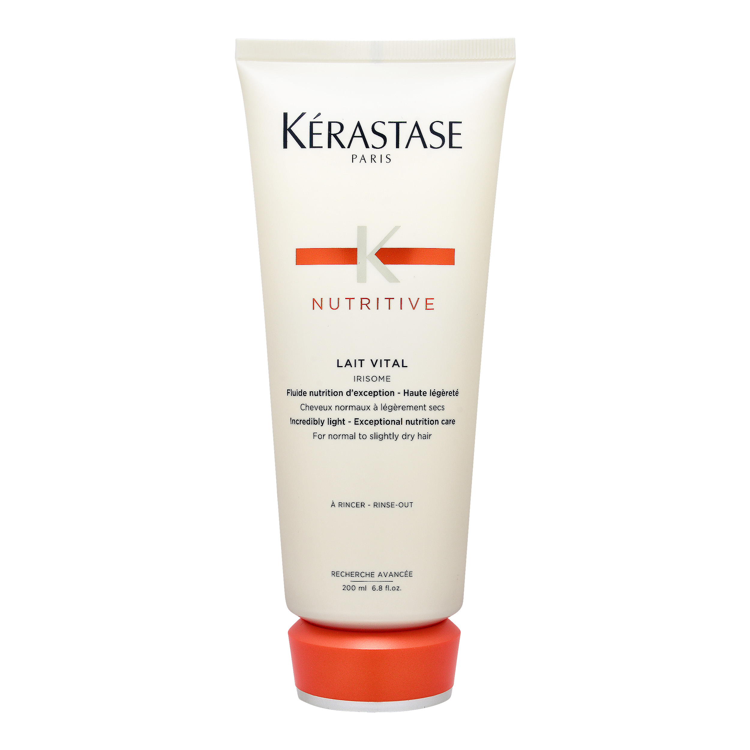Kérastase Paris Nutritive  Lait Vital Irisome Incredibly Light - Exceptional Nutrition Care (For Normal to Slightly Dry Hair) 6.8oz, 200ml