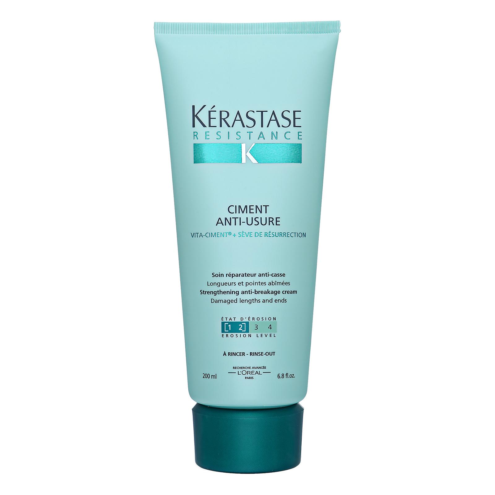 Kérastase Paris Resistance Ciment Anti-Usure Strengthening Anti-Breakage Cream (For Damaged Lengths and Ends) 6.8oz, 200ml