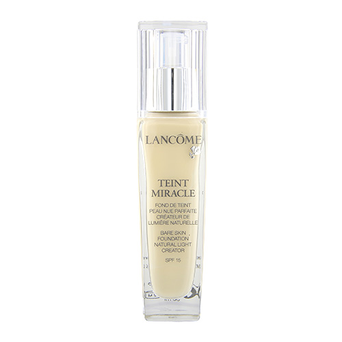 LANCÔME Teint Miracle Natural Light Creator - Bare Skin Foundation SPF15 O-01, 1oz, 30ml