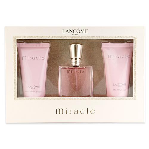 LANCÔME Miracle Eau de Parfum Gift Set 1set, 3pcs