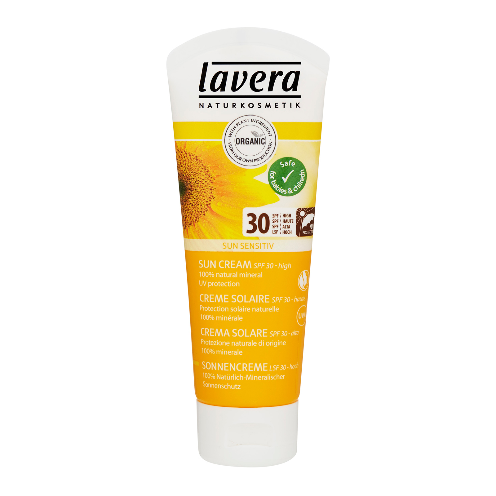 Lavera  Sun Cream SPF 30 2.5oz, 75ml