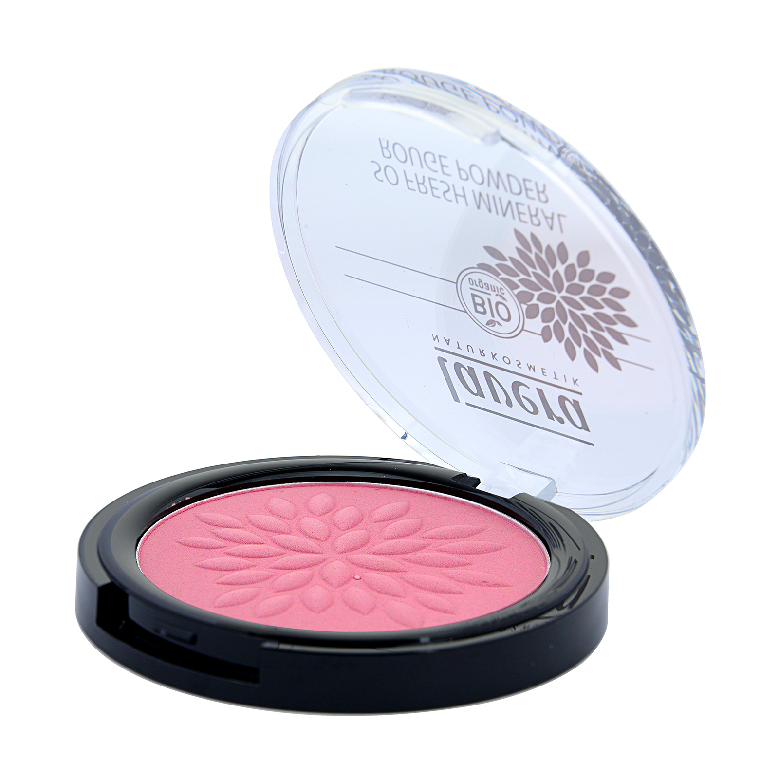 Lavera So Fresh Mineral Rouge Powder 04 Pink Harmony, 0.2oz, 5g