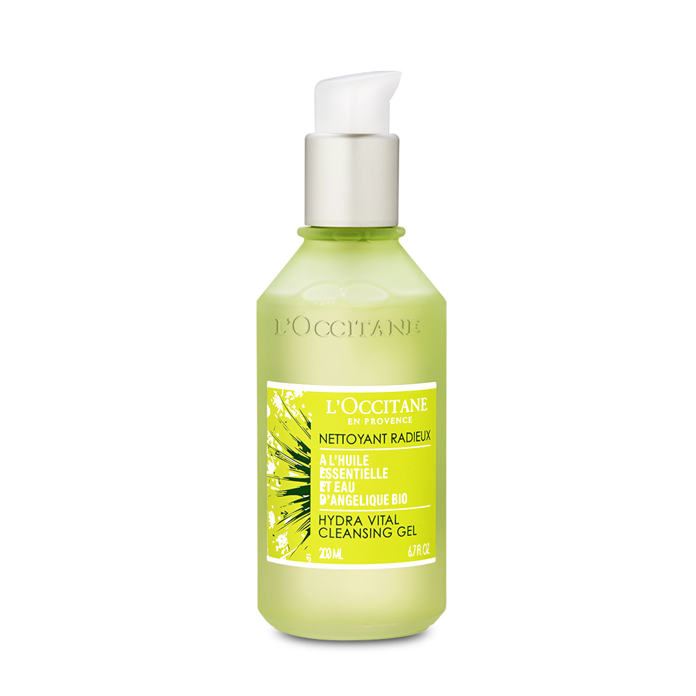 L'Occitane Angelica Hydra Vital Cleansing Gel 6.7oz, 200ml