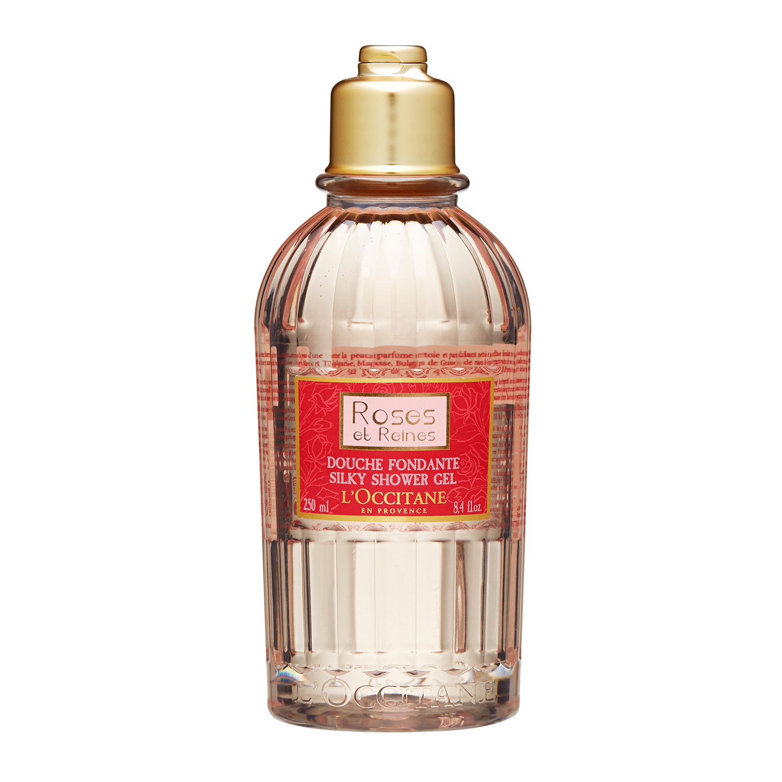 L'Occitane Roses et Reines Silky Shower Gel 8.4oz, 250ml