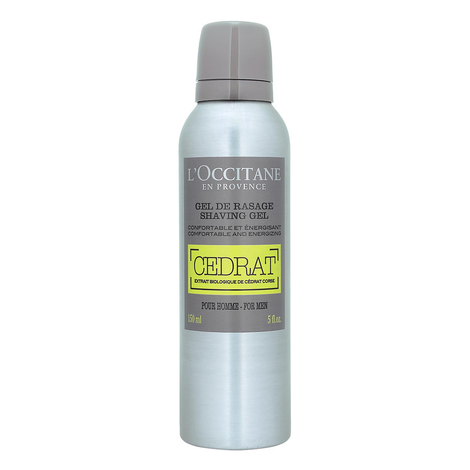 L'Occitane Cedrat Shaving Gel 5oz, 150ml LOX0100668-000-00