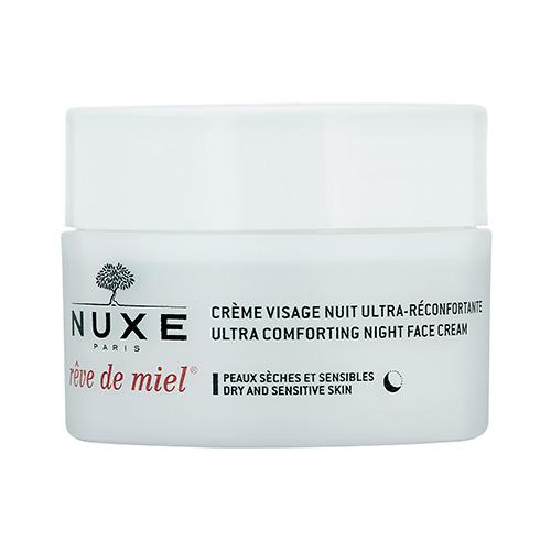 NUXE Rêve de Miel  Ultra Comfortable Face Cream Night (Dry and Sensitive Skin) 1.7oz, 50ml from Cosme-De.com