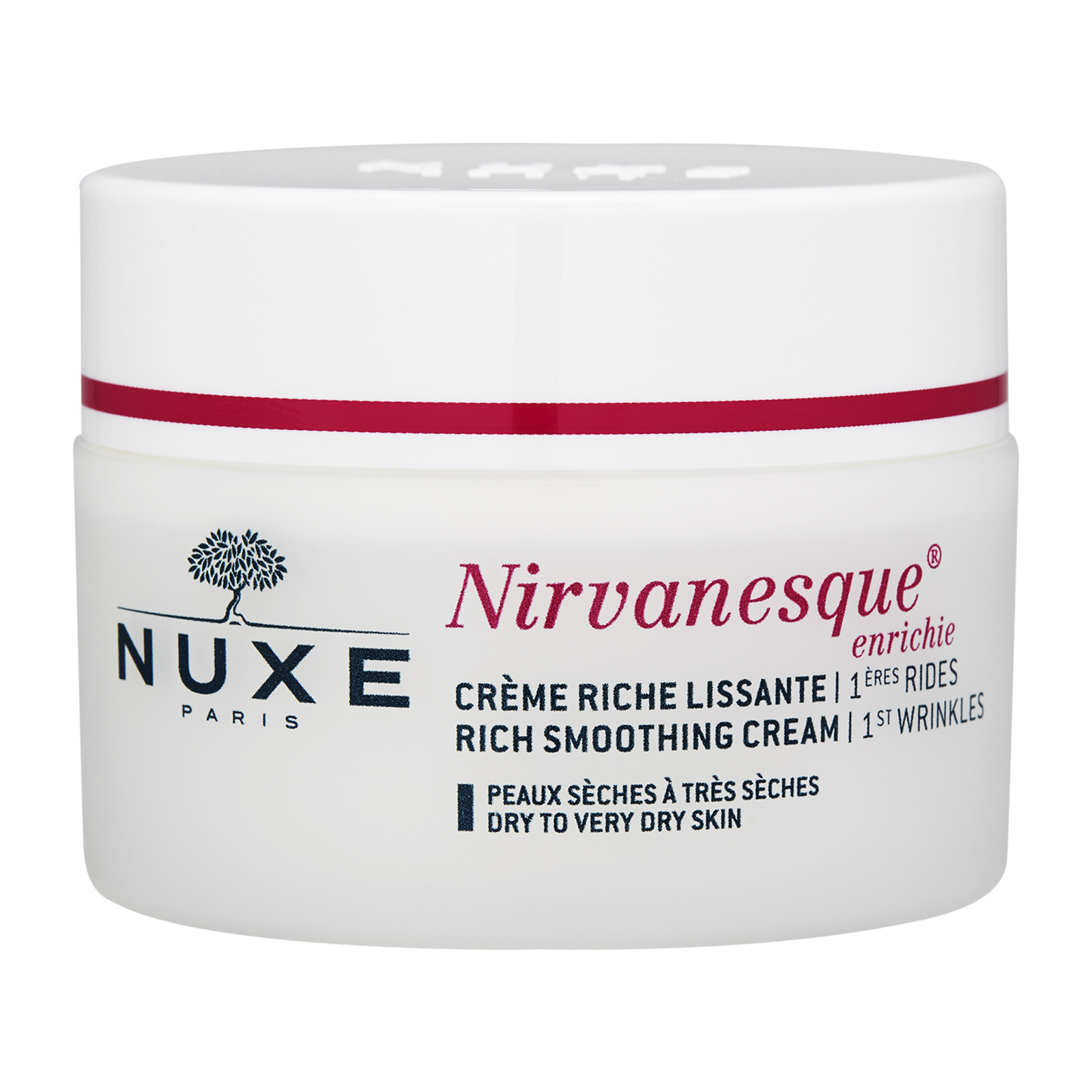 NUXE Nirvanesque  1st Wrinkles Rich Smoothing Cream (Very Dry to Dry Skin) 1.5oz, 50ml from Cosme-De.com