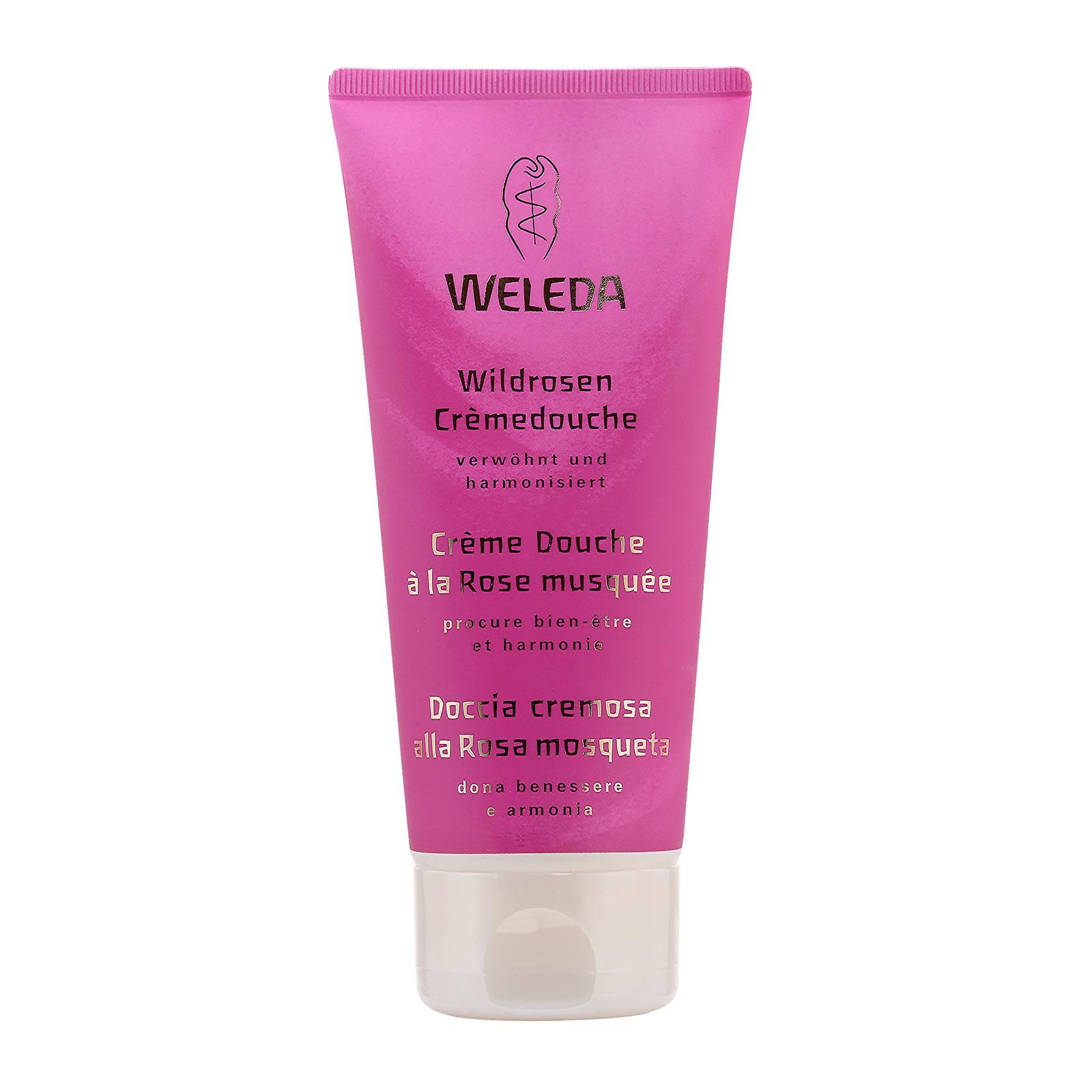 Weleda Wild Rose Creamy Body Wash 200ml,