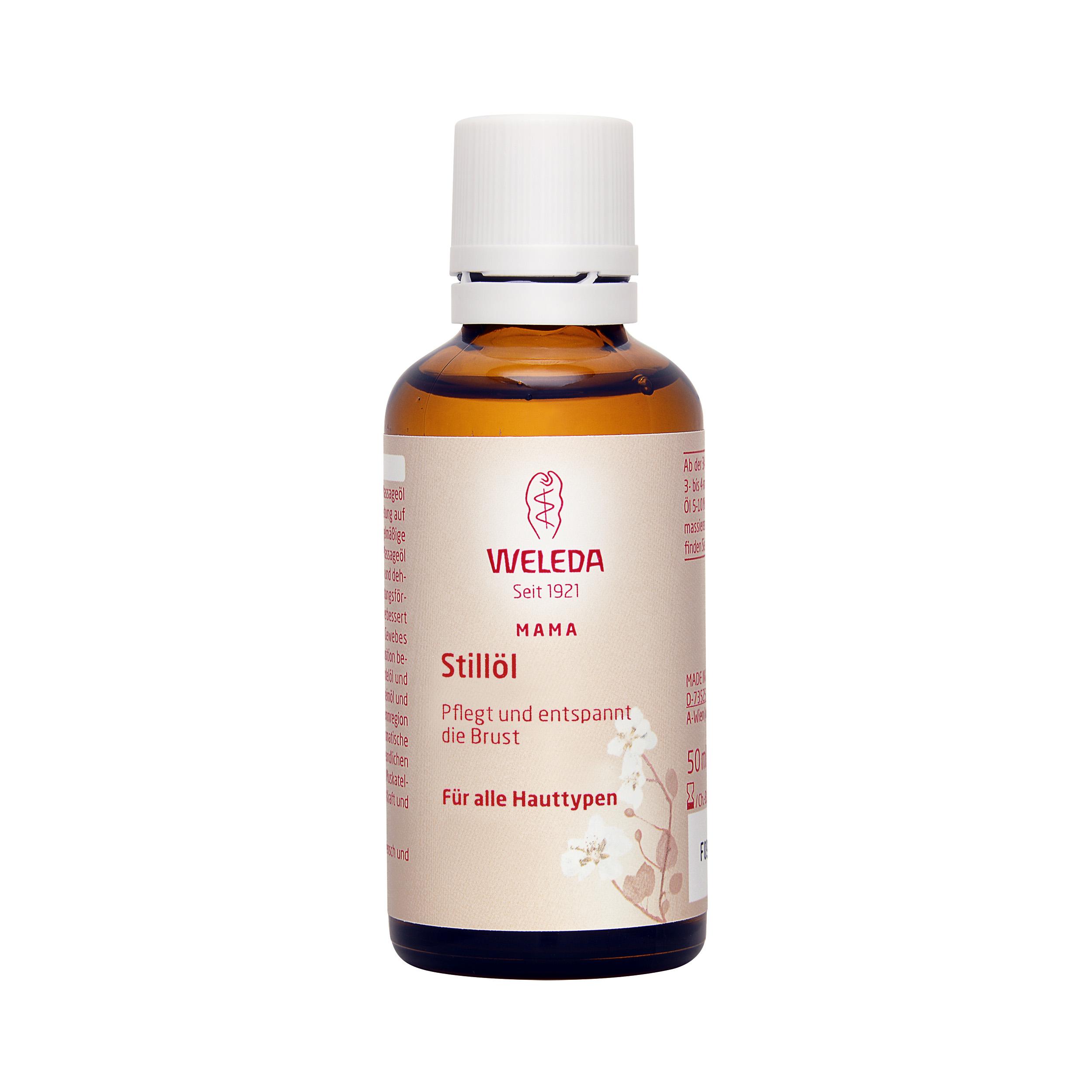 Weleda  Breastfeeding Massage Oil  50ml,