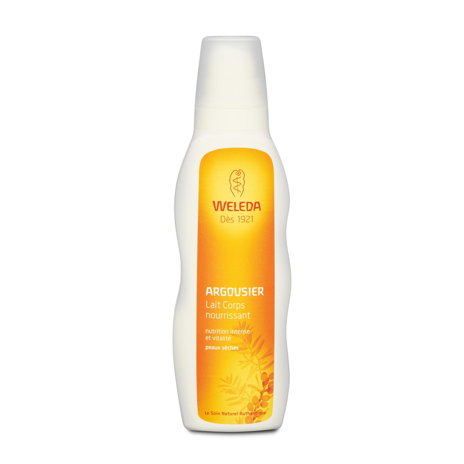 Weleda  Sea Buckthorn Nourishing Body Lotion (For Dry Skin) 6.8oz, 200ml from Cosme-De.com