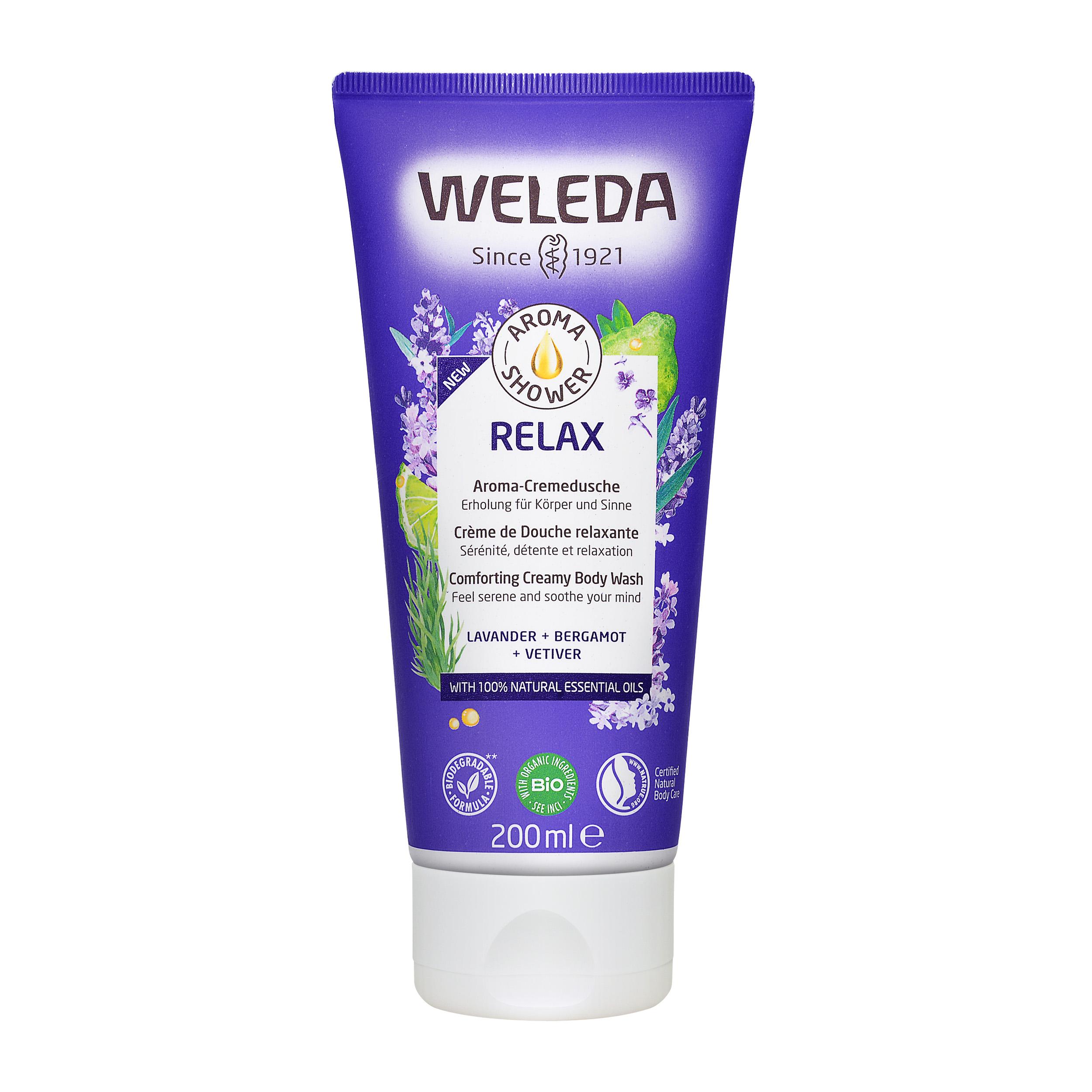 Weleda  Lavender Creamy Body Wash 200ml,